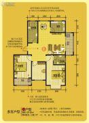 凤凰湖3室2厅2卫110平方米户型图