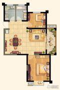 芙蓉山庄2室2厅1卫85平方米户型图