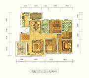 远洋戛纳小镇4室2厅2卫141平方米户型图