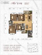 天元・美居乐4室2厅2卫148平方米户型图