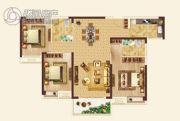 凤凰天仙城一期鸿鹄苑3室2厅2卫0平方米户型图