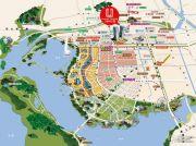 上海中心城开国际配套图