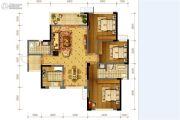 隆鑫十里画卷3室2厅2卫134平方米户型图