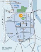 越秀・星汇名庭交通图