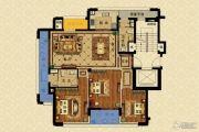 长峙岛・香芸园3室2厅2卫139平方米户型图