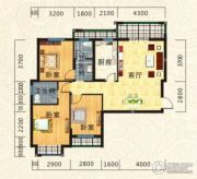 海德公园3室2厅2卫111--116平方米户型图