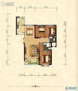沧州恒大城3室2厅2卫133平方米户型图