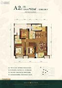 旭辉�B悦府3室2厅2卫0平方米户型图