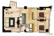 天祥海景城2室2厅1卫0平方米户型图