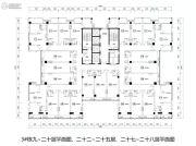 裕天国际商汇中心0平方米户型图