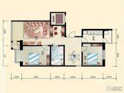 远达・兴和湾2室2厅1卫0平方米户型图