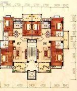 陶然家园3室2厅2卫129--141平方米户型图