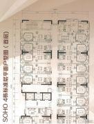 奥园城市天地0平方米户型图