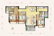小榄・锦园3室2厅2卫122平方米户型图
