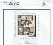 碧桂园・悦华府3室2厅2卫105平方米户型图