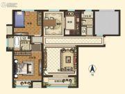 智慧城云著2室2厅2卫122平方米户型图