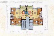 中阳豪苑3室2厅2卫127--132平方米户型图