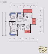 榕江一品3室2厅2卫138平方米户型图