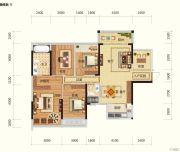 路桥锦绣国际5室2厅2卫133平方米户型图