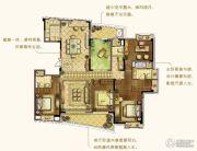 朗诗新郡4室2厅3卫210平方米户型图