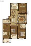 广厦・聚隆广场4室2厅2卫205平方米户型图