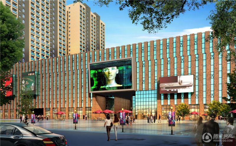 华北门业博览中心沿街效果图