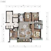 景瑞・天赋4室2厅3卫0平方米户型图