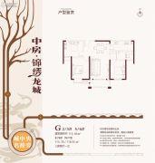 中房锦绣龙城3室2厅1卫113--116平方米户型图