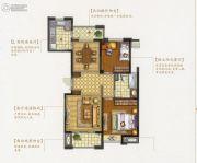 盛和花半里2室2厅1卫101平方米户型图