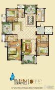 龙湖龙誉城3室2厅3卫181平方米户型图