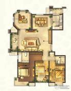 城置御水华庭4室2厅2卫173平方米户型图