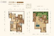 皇冠湖壹号5室3厅3卫241平方米户型图