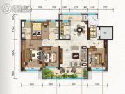 碧桂园・珑悦4室2厅2卫140平方米户型图