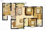 曲江龙邸4室2厅3卫166平方米户型图