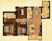 中建・御澜世家3室2厅2卫144平方米户型图