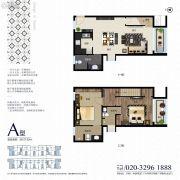 侨建御溪谷二期0室0厅0卫127平方米户型图