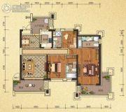 天隆三千海3室2厅3卫125平方米户型图