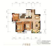 城投地产・智禧湾3室2厅1卫100平方米户型图