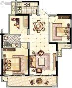 阳光城・青山湖大境3室2厅1卫112平方米户型图