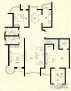 星河御城4室2厅3卫190--196平方米户型图