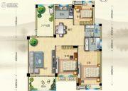 博大江山如画二期3室2厅2卫140--143平方米户型图