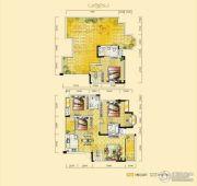 远达天际上城4室2厅3卫139平方米户型图