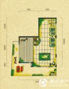 五矿龙湾别墅5室2厅5卫258平方米户型图
