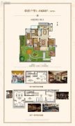 中洲花溪地4室2厅2卫143平方米户型图