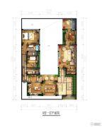 北京城建・海云家园166平方米户型图