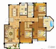 依云小镇3室2厅2卫148平方米户型图
