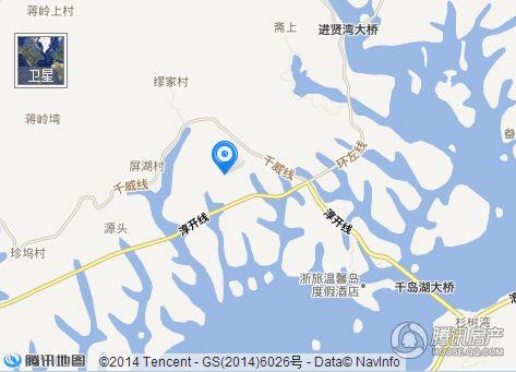 千岛湖墅交通图