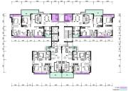 富盈居90--117平方米户型图