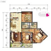 建投・洱海寰球时代3室2厅2卫138平方米户型图
