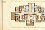 兴业花园3室2厅2卫143平方米户型图